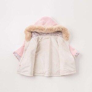 Image 4 - DBM7753 dave bella ฤดูใบไม้ร่วงฤดูหนาวเด็กทารก coat เด็กวัยหัดเดิน Hooded เสื้อเด็กคุณภาพสูง outerwear
