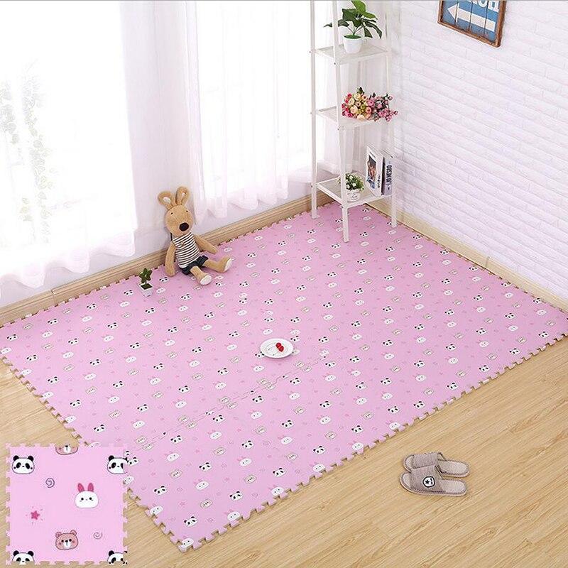 Tapis de Puzzle pour bébé tapis de jeu pour bébé tapis pour enfants en mousse EVA tapis pour enfants tapis de Gym jeu de sol souple rampant tapis en mousse à emboîtement - 3