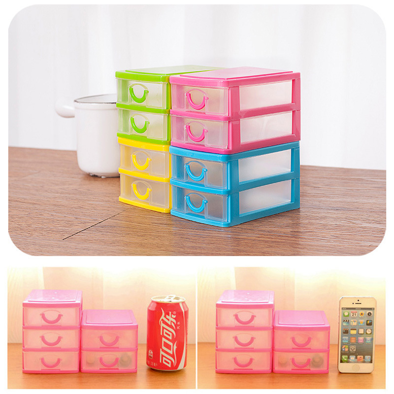 new office organizer makeup jewelry earring ring drawer storage box mini home storage boxes 4 colors cheap office drawers
