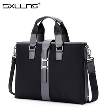2017 Hot Men Shoulder Bags Brand Handbag Sxllns Men's Messenger Bag Laptop Tote Bag Business Casual Crossbody Bag Briefcase