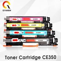 CF350A CF351A CF352A CF353A 130A Cartucho de Toner Colorido Compatível para hp Color LaserJet Pro chip de MFP M176n  m176 M177fw M177 impressora toner cartridge color toner cartridgecf350a cf351a cf352a cf353a -