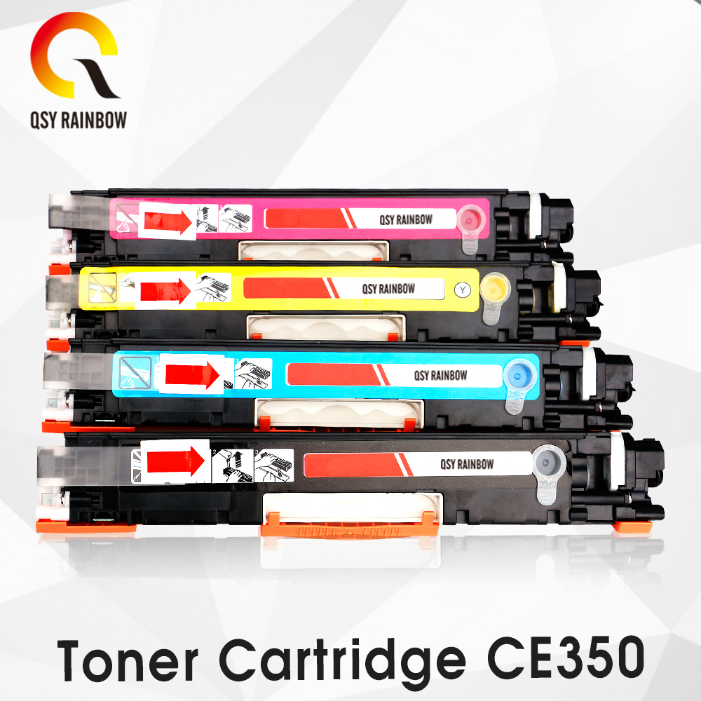 CF350A CF351A CF352A CF353A 130A Compatible Color Toner Cartridge for hp Color LaserJet Pro MFP M176n, M176 M177fw M177 printer hot sala black toner powder chip for hp cf350 for hp color laserjet pro mfp m176n 177fw printer cartridge powder free shipping
