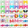 Free Shipping 1000pcs Butterfly Sugar Garden Shoe Accessory Lovely Coloful Shoe Decoration For Girls Sandal