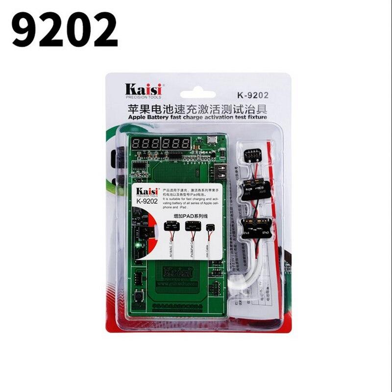 imágenes para K-9202 16 en 1 profesional de activación de la batería placa de carga con cable usb mic para iphone 4/5s/6/6 s/6 s plus para ipad 2/3/4/5/6