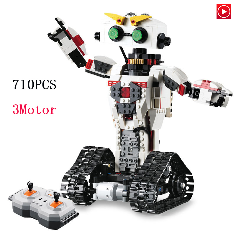 Legoed technic lepin 51027 toy Telerobot Remote control Battle