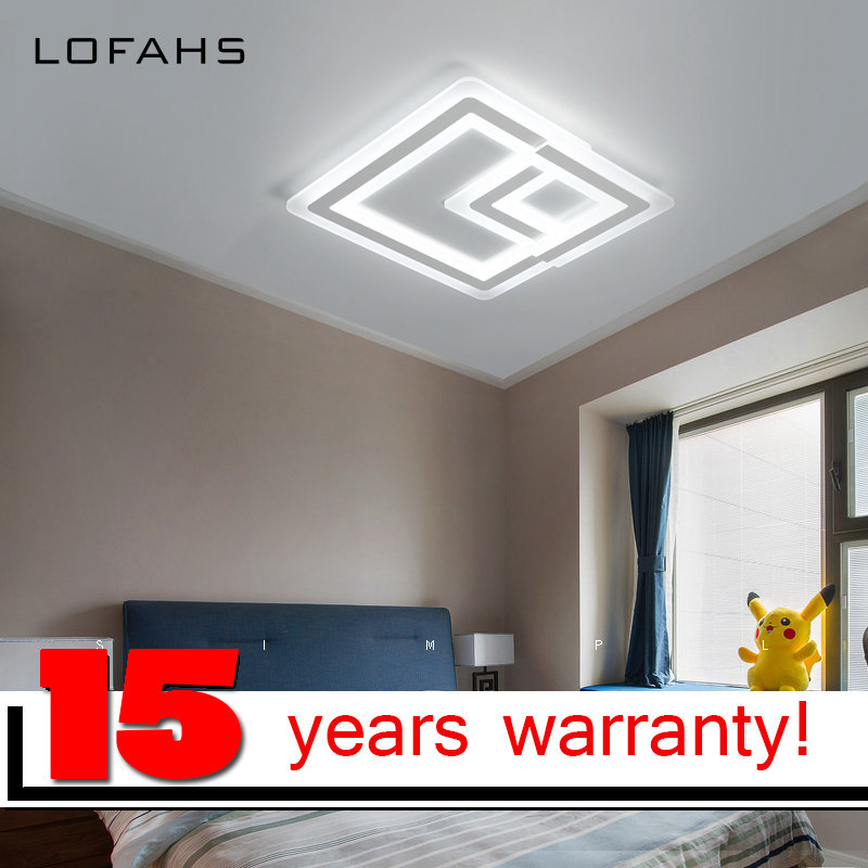 LOFAHS Modern high brightness LED ceiling lights for living dining room bed room with remote luxury ceiling lamp fixtur