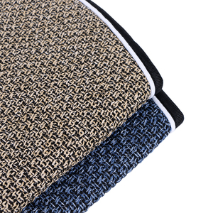 Image 4 - Artificial linen Auto Seat Cushion fit Most Cars Truck Suv or Van / 2 piece Front Car Seat Cover or 1 set back seat covers mat