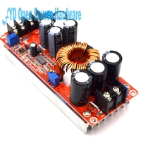 Free Shipping 1200W High Power DC DC Boost Adjustable Constant Voltage Constant Current Power Supply Module