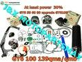 Gy6 50 80 до GY6 100CC скутер частей большого диаметра комплект 139QMB 139QMA производительность скутер в гонке части