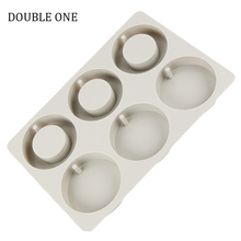 DOUBLE ONE Round Crytal Resin Jewelry Cabochon Round Pendant Molds for Jewelry Tools DIY Making Accessories