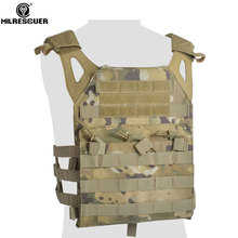 MILRESCUER Camouflage Hunting Military Tactical Vest Wargame Body Molle Armor Hunting JPC Vest Airsoft Combat Gear new outlife camouflage hunting military tactical vest wargame body molle armor hunting vest cs outdoor jungle equipment