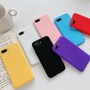 Candy Color Soft Silicon Case for Huawei P20 Pro P10 P9 P8 Lite 2017 Mate 10 honor 8 9 Lite P Smart Y9 Cell Phone Back Cover(China)