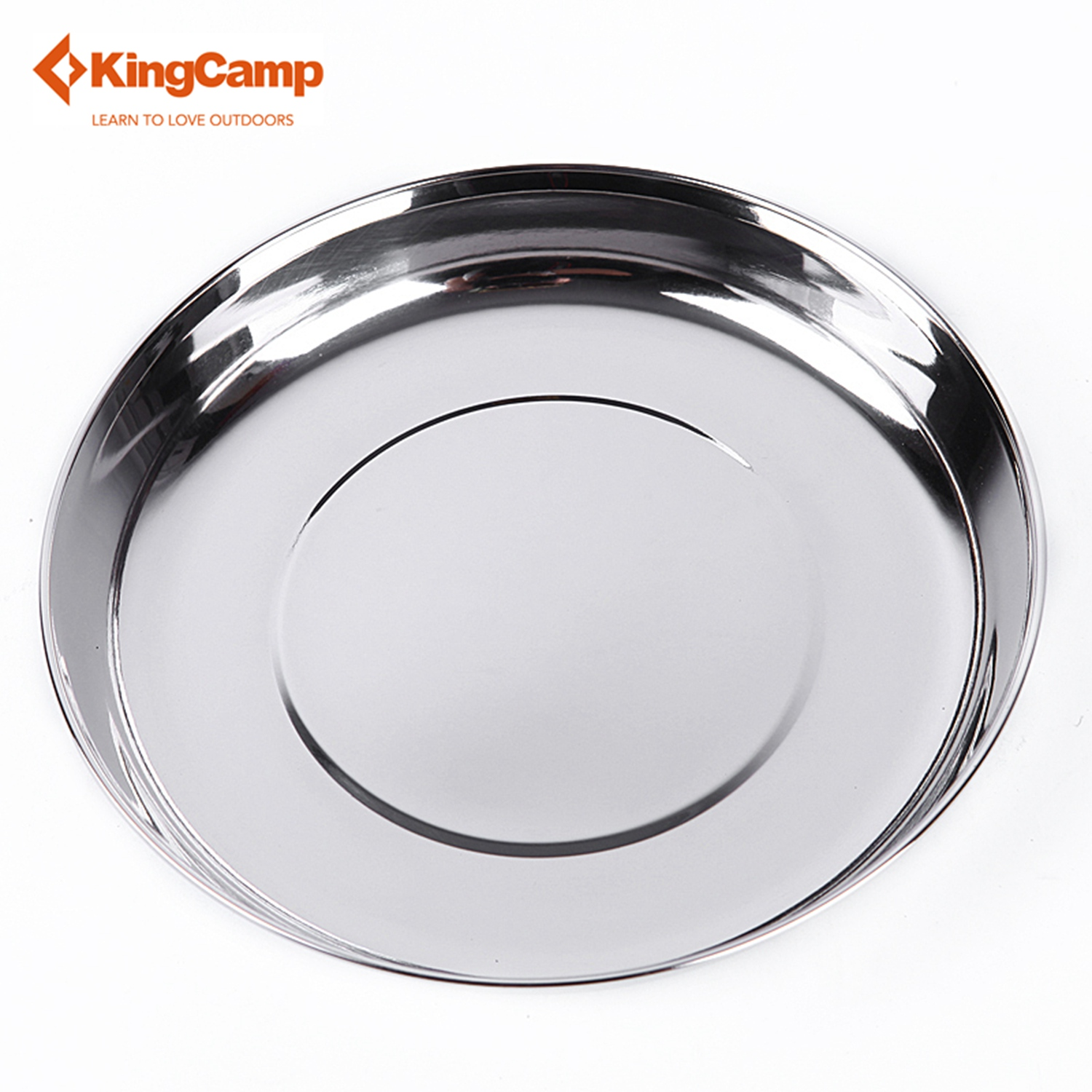 KingC& c&ing set t tableware Outdoor Stainless Steel Plate Portable C&ing Tableware Dia.6.97 inch-in Outdoor Tablewares from Sports u0026 Entertainment on ...  sc 1 st  AliExpress.com & KingCamp camping set t tableware Outdoor Stainless Steel Plate ...