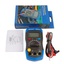 High quality Capcitance meter DM6013L Handheld capacimetro 1999 counts Capacitor electronic w/ LCD Capacitance tester