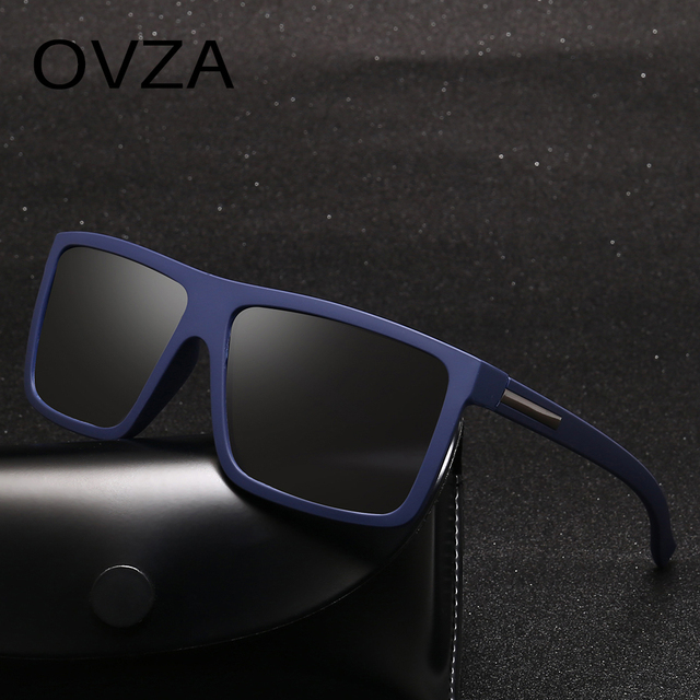 OVZA Polarized Flat Top Designer Sunglasses 2