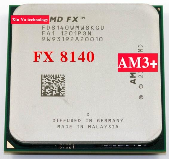 FX 8140 3.2GHz 8M Octa Core desktop processors CPU Socket AM3+ Computer Eight nuclear threads Original authentic