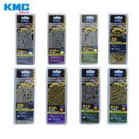 KMC 8 9 10 11 geschwindigkeit 116L/kette bike Kette 9S 10S 11S Gold für MTB /Rennrad X8 X9 X10 X10 EPT X9L X10L X11L für/SRAM