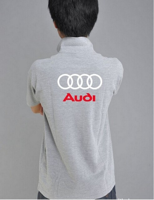 Men's Polo Shirt With Audi Logo (8 Colors)