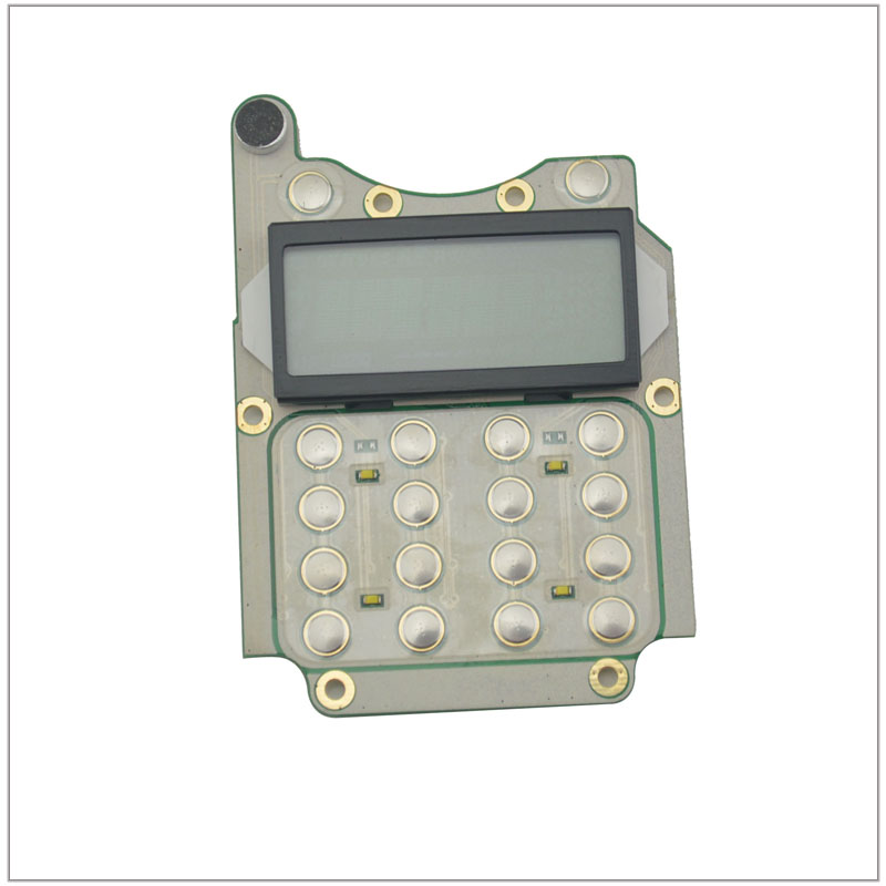 Keypad PCB Board With LCD Display & Mic For Wouxun KG-UVD1P Portable Two-way Radio