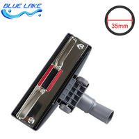 Original OEM Vacuum Cleaner Floor Carpet Brush Nozzle With Wheels Metal Plate Interface Inner Diameter 35mm