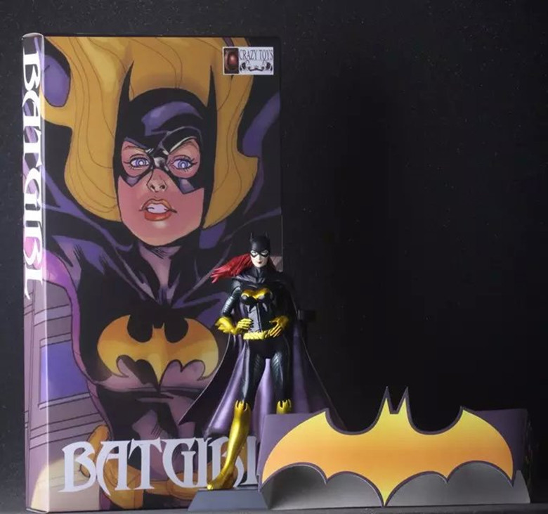 "Classic DC Comic Super Hero Figur Gotham City Batgirl Kathy Kane Crazy Toys 7 ""Action Figur"