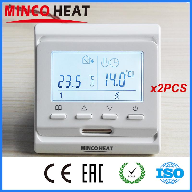 Express Flooring Tempe Images On: CE 220V 16A White Digital Lcd Display Digital Thermostat For Heating Best Temperatur Controller