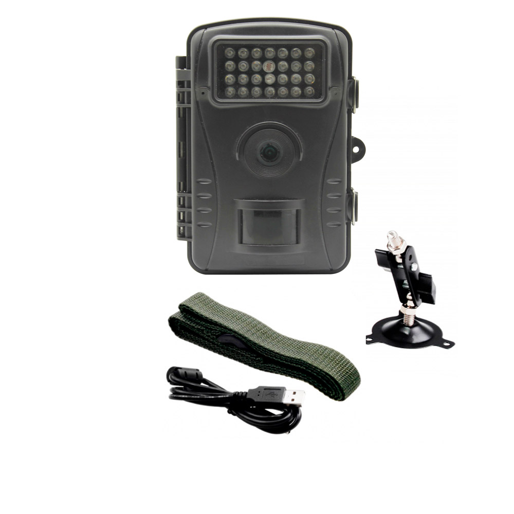 720P HD Infrared Hunting Trail Camera Outdoor 2.4inch LED Screen Security Scouting Camera IR Game Camera 940nm scouting hunting camera 16mp 1080p new hd digital infrared trail camera 2 inch lcd ir hunter cam
