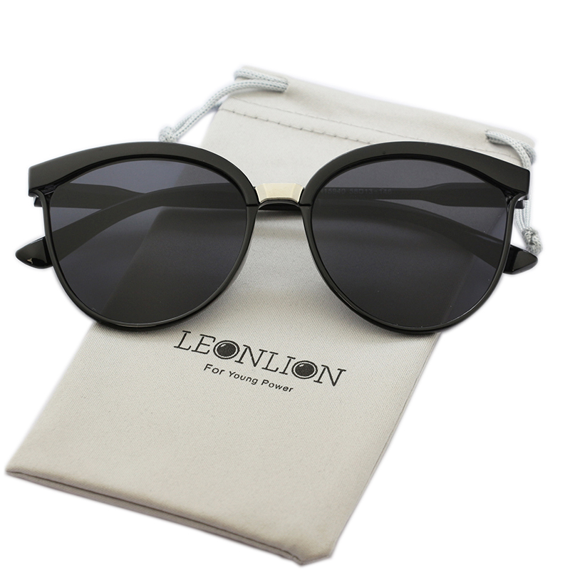 LeonLion Candies Brand Designer Cat Eye Sunglasses Women Luxury Plastic Sun Glasses Classic Retro Outdoor Oculos De Sol Gafas сумка для ноутбука sumdex pon 302nv double compartment computer brief 15 6 нейлон полиэстер синий 41 3 х 31 1 х 10 8 см