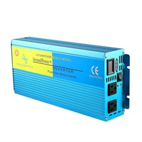 1500W High Power Car Power Inverter DC12V To AC110V Solar Inverter Modified Charger Power Converter Adapter