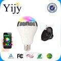 Controle de telefone de Música Colorido Lâmpada Led Bluetooth Speaker 2 EM 1 Portátil de Música Inteligente RGB Lâmpada Bolha