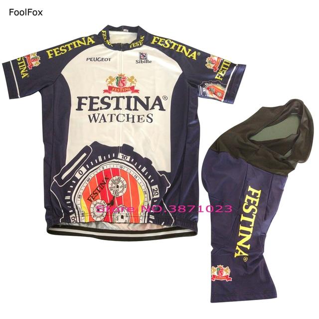 New Cycling jersey retro classic summer Anti-sweat Quick Dry short sleeve  set bib shorts FoolFox d38d71fc0