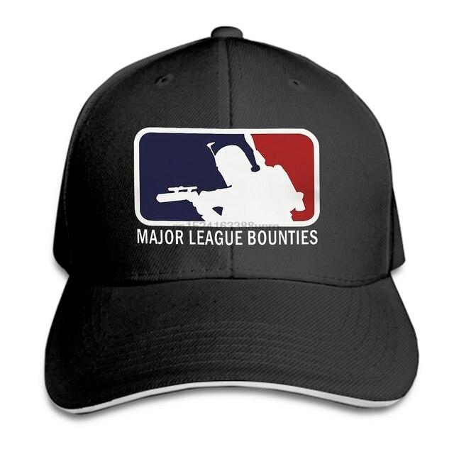 Boba Fett Major Bounties League cap Bounty hunter Mandalorian Hot Fashion Baseball  caps Baseball cap 328dd637add