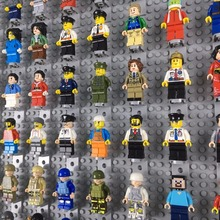Cidade Legoingly Profissão DIY Educacional Construção Bricks Boys Toys Compatível Militar Blocos Ninjago Figuras de Mini Para Crianças
