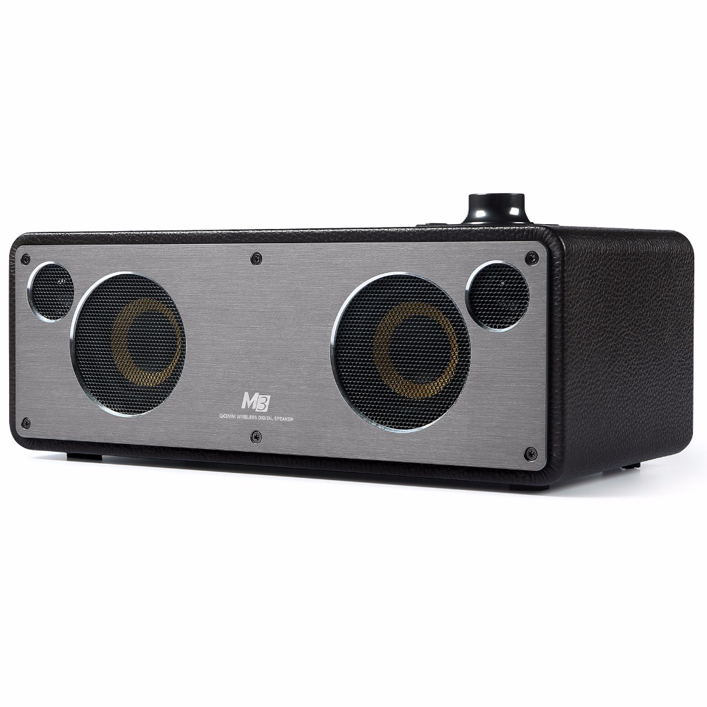 GGMM Reddot Award Bluetooth Speakers Wi Fi Subwoofer Wireless Stereo Audio Receiver Bass Sound With Bluetooth