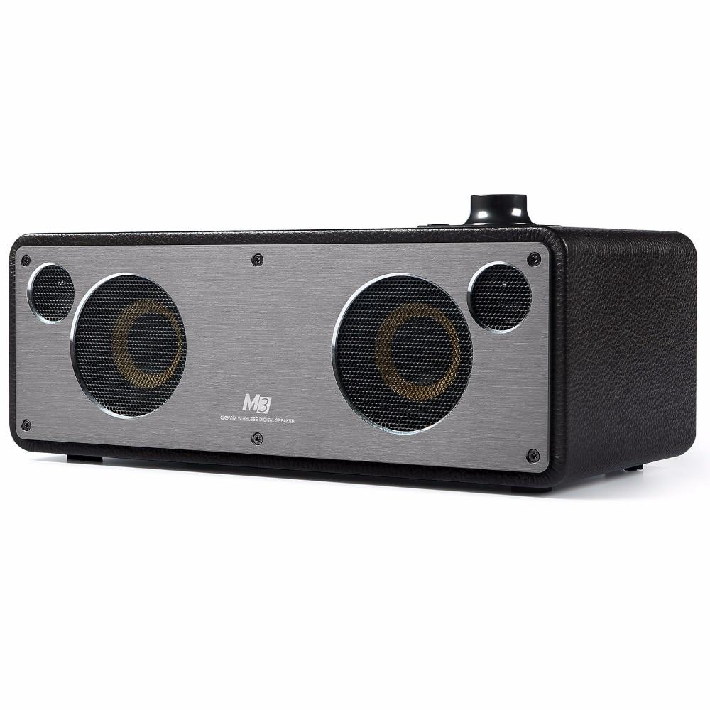 GGMM Reddot Award Alto-falantes Bluetooth Subwoofer Bass Som Estéreo Receptor de Áudio Sem Fio Wi-Fi Com Bluetooth/Wi-Fi/Aux em
