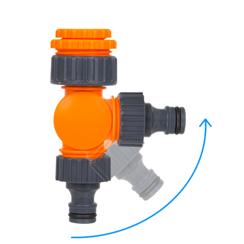 Quick Connector Rotatable Water Tap Splitter Irrigation Agriculture Quick Water Connector Water Control Valve 1/2 inch 3/4 inch 3