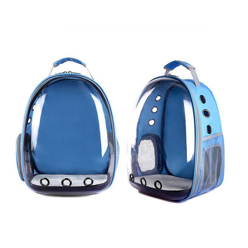 f549b4609a25 ... Pet сумка собака плеча рюкзак кошка плеча рюкзак Pet Travel панорамный  пространства мешок Портативный дышащая прозрачный ...