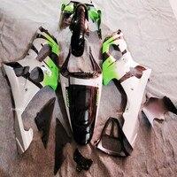 Green Fairing ABS kit for SUZUKI GSXR1000 K2 00 01 02 white GSXR 1000 2000 2001 2002 Fairings Green/white