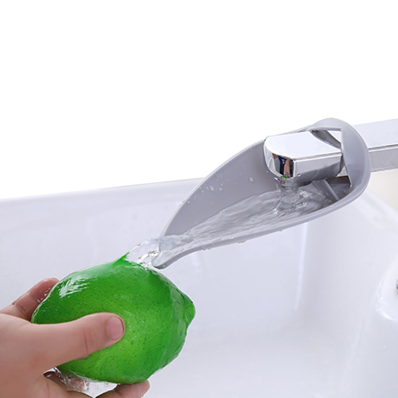 Silicone Sink Faucet Extenders for Toddlers Kids Children Wash Hands Kitchen Bathroom Accessories Home Stuff