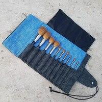 10pcs Makeup Brushes Set Pro Face Basic Foundation Powder Eye Shadow Make Up Brushes With High