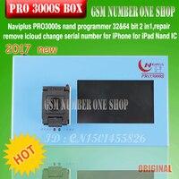Navi plus pro 3000 s nand programmeur 32 & 64 bit 2 in1, réparation enlever icloud changer le numéro de série pour iPhone pour iPad Nand IC