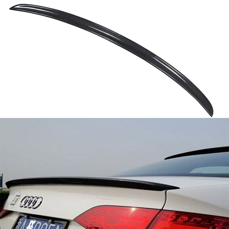 A4 B8 OSIR style Carbon Fiber rear trunk spoiler wing for Audi A4 B8 2009~2012 yandex w205 amg style carbon fiber rear spoiler for benz w205 c200 c250 c300 c350 4door 2015 2016 2017