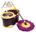 House Scenery 360 Degree Retractable Mop Set Stainless Steel Dual Drive Rotation Mop With Bucket Clean Tools Housewares