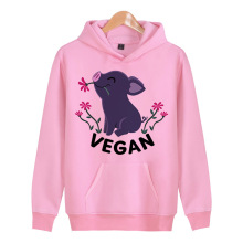 Happy pig VEGAN hooded sweatshirt