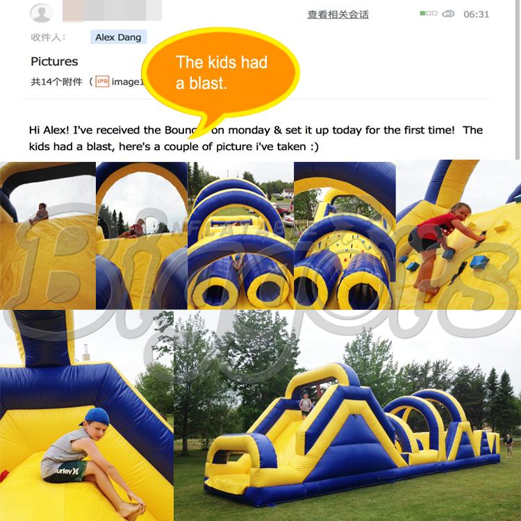 Inflatable water slide\'s feedback 2