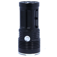 10000 lumens Super Bright LED flashlamp 7 x  XM-L T6 XML T6 7T6 LED Flashlight Torch Free\/Drop shipping