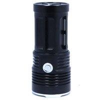 10000 lumens Super Bright LED flashlamp 7 x XM L T6 XML T6 7T6 LED Flashlight Torch Free/Drop shipping