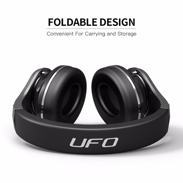 Bluedio U(UFO)Bluetooth headphone wireless/wired over ear headset with mic High-End 3D Sound Patented 8 Drivers headphones