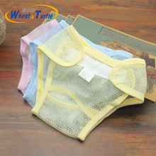 Mother Kids Baby Bare Cloth Diapers Unisex diapers Reusable Washable Mes Newborn Summer Breathable