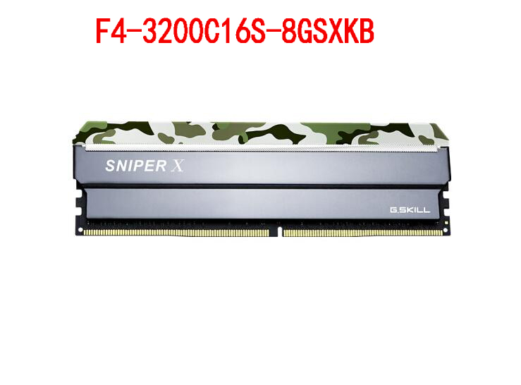 G. Skill Sniper X sniper série DDR4 3200 8 GB ordinateur de bureau de mémoire F4-3200C16S-8GSXKB